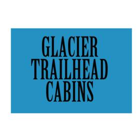 Glacier Trailhead Cabins Logo