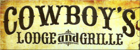 Cowboys Lodge and Grille Logo