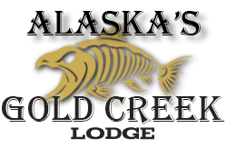 Alaska's Gold Creek Lodge Logo