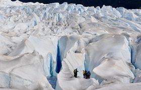 Glacier blue trek climb