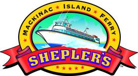 Shepler's Mackinac Island Ferry Logo