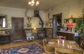 Crazy mountain inn lobby