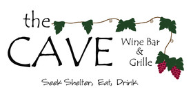The Cave Wine Bar and Grille Logo