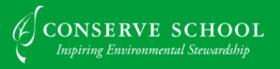 Conserve School Logo