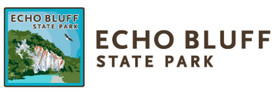 The Lodge at Echo Bluffs State Park Logo