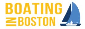 Boating In Boston Logo