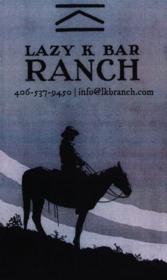 Lazy K Bar Ranch Logo