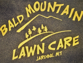 Bald Mountain Lawncare Logo
