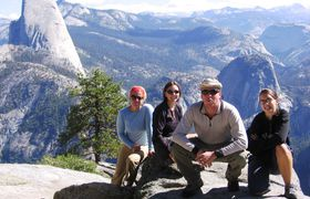 Group viewing half dome   enhanced