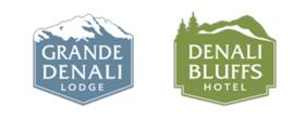 Grande Denali Lodge & Denali Bluffs Hotel Logo