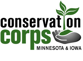 Conservation Corps MN & IA Logo
