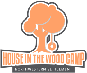 House In The Wood/Northwestern Settlement Logo