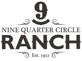 Nine Quarter Circle Ranch Logo