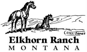 Elkhorn Ranch - Montana Logo
