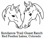 Sundance Trail Guest Ranch Logo