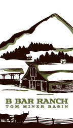 B Bar Ranch Logo