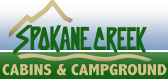 Spokane Creek Cabins & Campground Logo