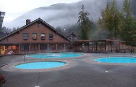 Sol duc hot springs pools
