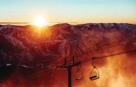 Sunvalley christmaslift sunrise 1892
