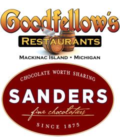 Goodfellow's Restaurants/Sanders Candy Logo