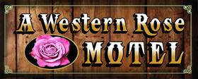 A Western Rose Motel Logo