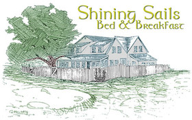 Shining Sails Bed & Breakfast Logo