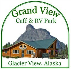 Grand View Cafe & RV Park Logo